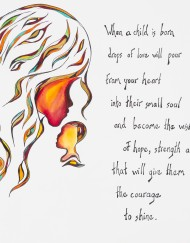 Baby Thoughts Unframed Prints