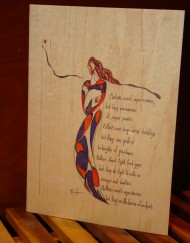 buy wooden greeting cards