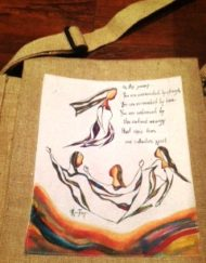 Baby Thoughts Jute Bags